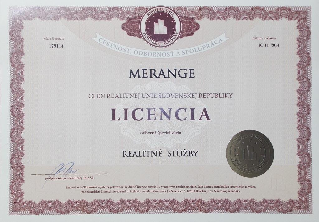licencia reality